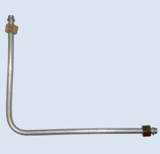 Трубка подачи воздуха на обратный клапан 3/8-3/8 L-470mm
