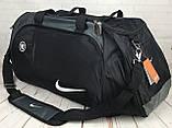 Большая дорожная, спортивная сумка Nike. Сумка в дорогу , для поездок, фото 3
