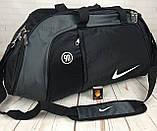 Большая дорожная, спортивная сумка Nike. Сумка в дорогу , для поездок, фото 8