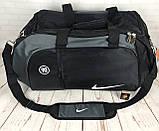 Большая дорожная, спортивная сумка Nike. Сумка в дорогу , для поездок, фото 10