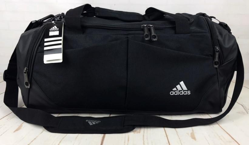 Красивая спортивная сумка Adidas. Сумка для тренировок , в спортзал. Дорожная сумка.