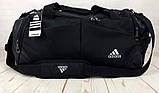 Красивая спортивная сумка Adidas. Сумка для тренировок , в спортзал. Дорожная сумка., фото 3