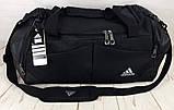 Красивая спортивная сумка Adidas. Сумка для тренировок , в спортзал. Дорожная сумка., фото 4