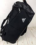 Красивая спортивная сумка Adidas. Сумка для тренировок , в спортзал. Дорожная сумка., фото 6