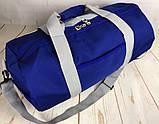 Небольшая красивая спортивная сумка бочонок Fila., фото 3