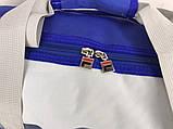 Небольшая красивая спортивная сумка бочонок Fila., фото 6