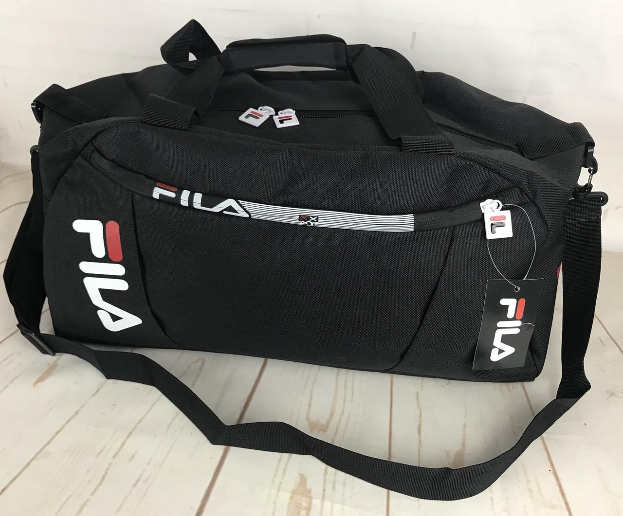 Красивая спортивная сумка  Fila.Сумка для тренировок. Дорожная сумка