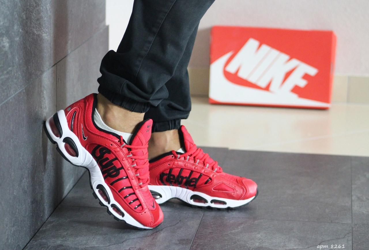 Мужские кроссовки Nike Air Max Tn Supreme (красные)