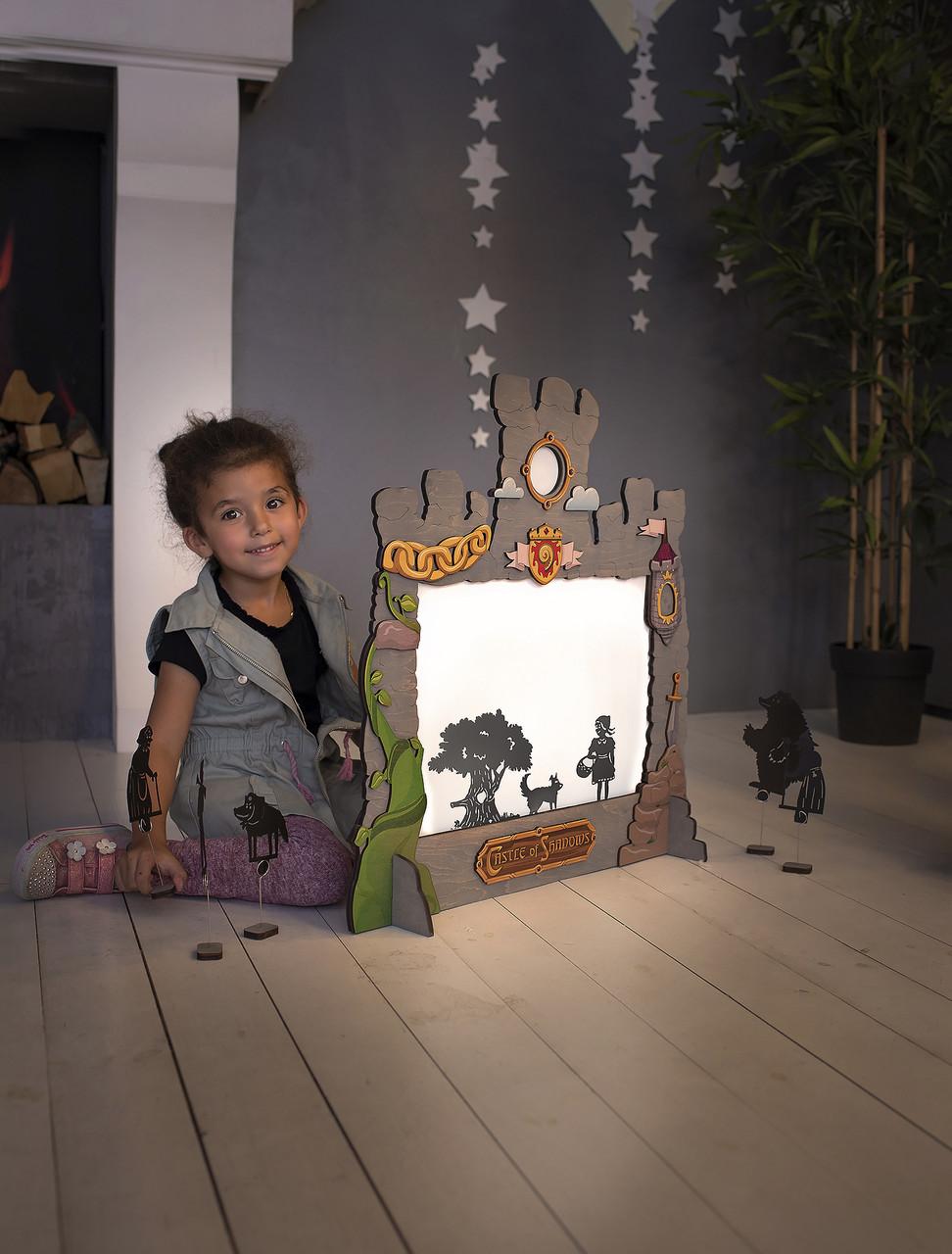 Домашній Театр Тіней для дітей (32 персонажа, 7 казок народів світу)