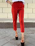 Женские стильные брюки с высокой посадкой (в расцветках), блуза отдельно, фото 2