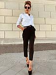 Женские стильные брюки с высокой посадкой (в расцветках), блуза отдельно, фото 7