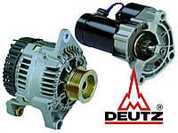 Стартер и генератор двигателя Deutz