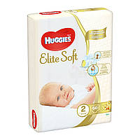 Подгузники Huggies Elite Soft 2 (4-6 кг) 66 шт.