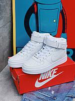 Женские кроссовкиNike Air Force женская обувь кроссовки белые найк