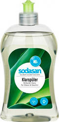 Органический ополаскиватель для посудомоечных машин Sodasan 0.5 л