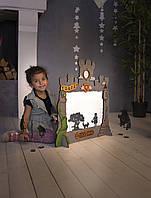 Домашний Театр Теней для детей (32 персонажа, 7 сказок народов мира)