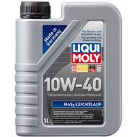 Моторное масло Liqui Moly 10W-40 MoS2 LEICHTLAUF 1л