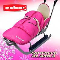 Конверт на санки Adbor Alaska розовый