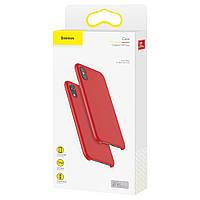 Чехол-накладка силикон Baseus Original LSR Case для Apple iPhone XS (red) (WIAPIPH58-ASL09)