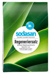 Органическая соль для посудомоечных машин Sodasan 2 кг