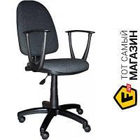 Офисное кресло со спинкой ткань Примтекс плюс Jupiter GTP sonata C-11 темно-серый