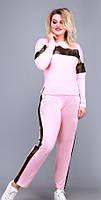 Спортивный костюм женский батал  гул0363, фото 1