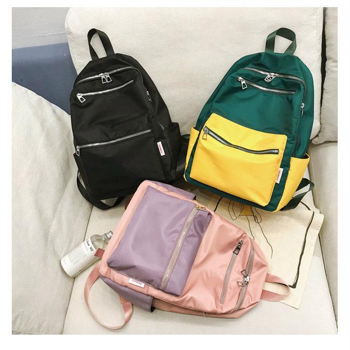 Нейлоновый рюкзак для девушки
