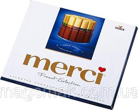 Шоколадные конфеты MERCI молочный 250 г, фото 2