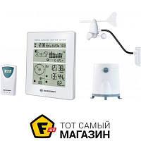 Домашняя метеостанция Bresser Weather Center - барометр, термометр, гигрометр, анемометр, осадкомер