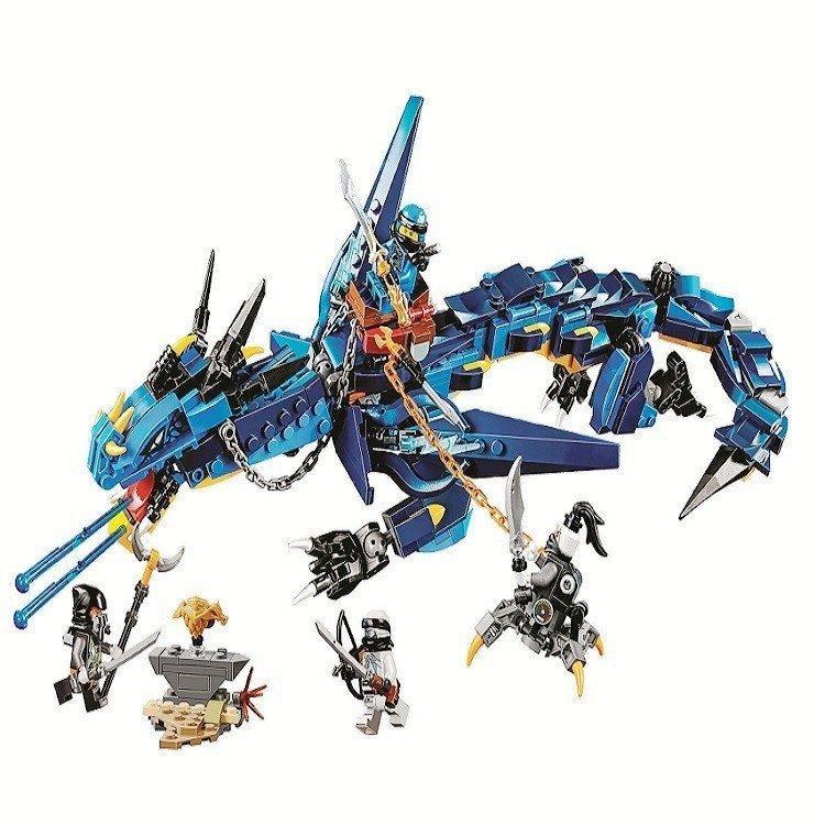 "Конструктор Bela Ninja 10936 ""Вестник бури"", 515 деталей Аналог Lego Ninjago 70652"
