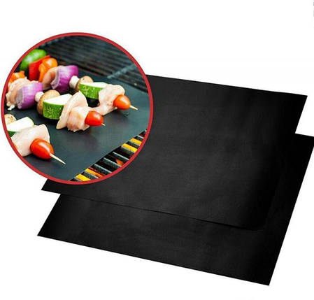 Антипригарный барбекю гриль мат  BBQ grill sheet  33 * 40 см, фото 2