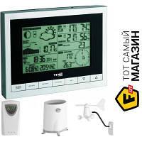 Домашняя метеостанция TFA Sinus (351095) - барометр, термометр, гигрометр, анемометр, осадкомер