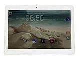 """Качественный планшет 2Life 10"""" 4/32 Gb, 6000 mA White-Gold (n-340), фото 2"""