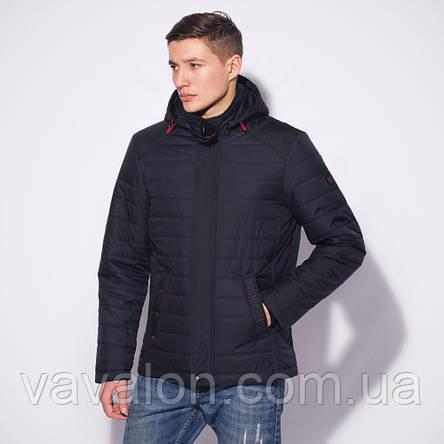 Демисезонная мужская куртка  с капюшоном, фото 2