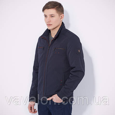 Куртка демисезонная Vavalon KD-174 navy, фото 2