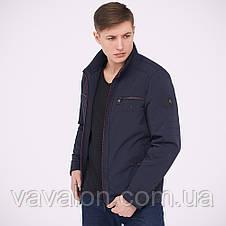 Куртка демисезонная Vavalon KD-174 navy, фото 3