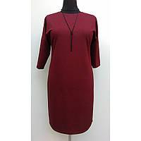 Платье женское осеннее большого размера нарядное 60 (54, 56, 60) батал для полных женщин № 381