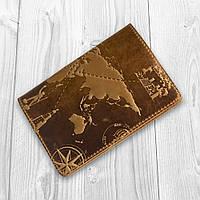 """Рыжая дизайнерская обложка для паспорта, коллекция """"7 wonders of the world"""", фото 1"""