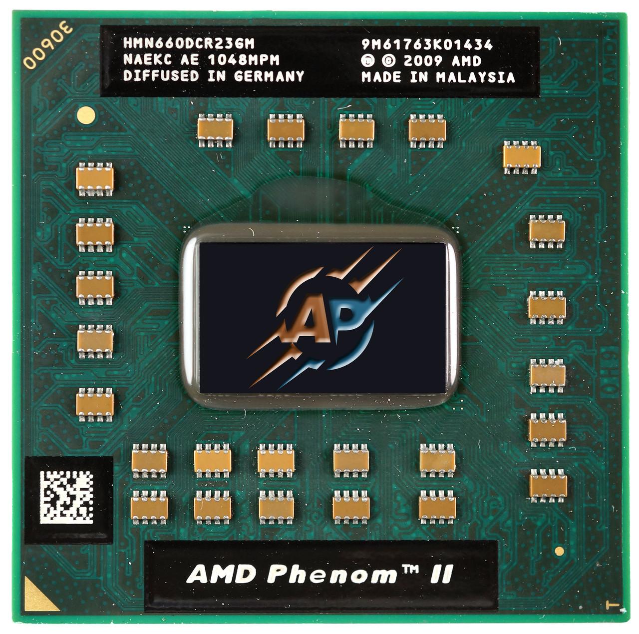 Процессор для ноутбуков, AMD Phenom II N660, 3.0GHz, Socket S1 (S1g4)
