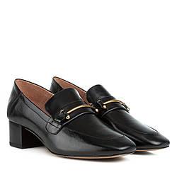 Туфли женские Djovannia(кожаные, повседневные, на удобном каблуке)