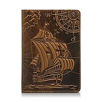 """Рыжая дизайнерская обложка для паспорта, коллекция """"Discoveries"""", фото 1"""