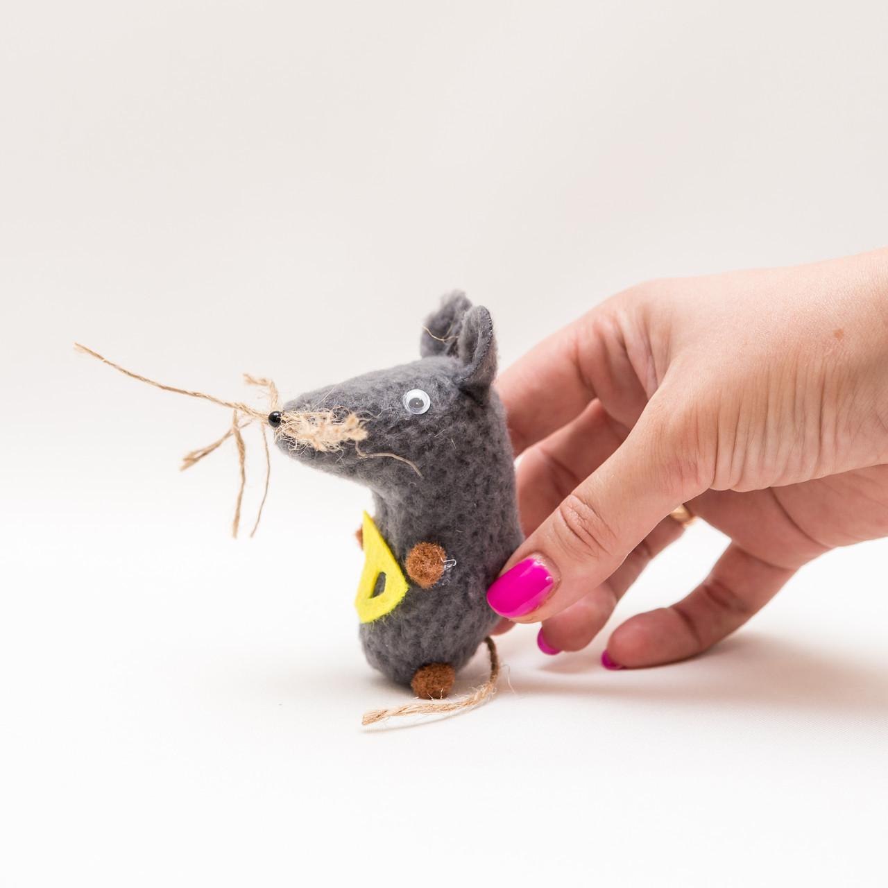 Кошельковая мышь Vikamade серая