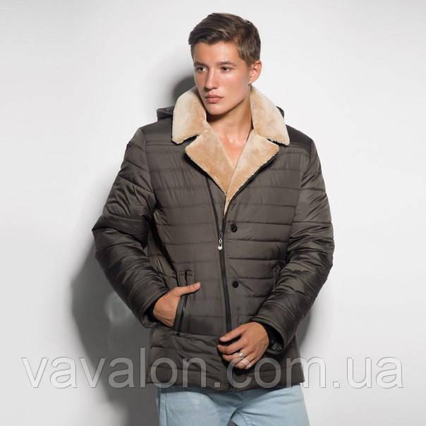 Зимняя мужская куртка с капюшоном.Модель этого года!