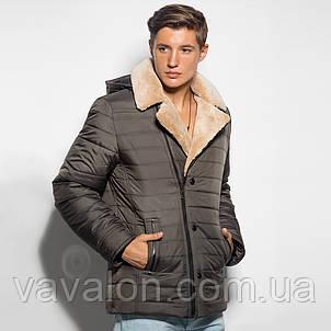 Зимняя мужская куртка с капюшоном.Модель этого года!, фото 2