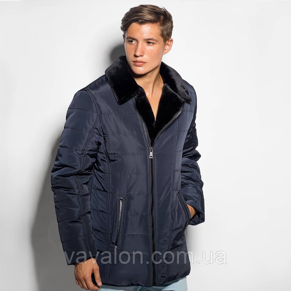 Мужская зимняя куртка (классика)