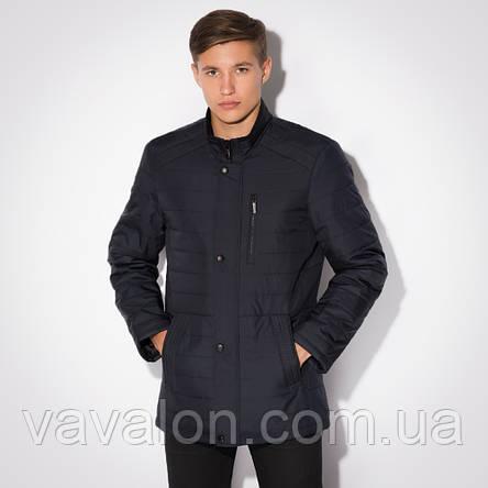 Куртка демисезонная Vavalon KD-257 navy, фото 2