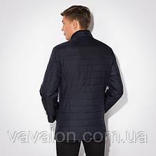 Куртка демисезонная Vavalon KD-257 navy, фото 3
