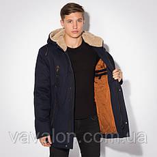 Удлиненная зимняя мужская куртка!, фото 3