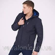 Куртка демисезонная Vavalon KD-170 navy, фото 2