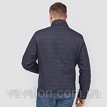 Куртка демисезонная Vavalon KD-180 navy, фото 3